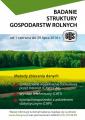 Badanie struktury gospodarstw rolnych