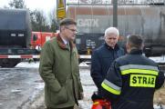 Zderzenie pociągów w Myszkowie