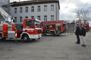 Ćwiczenia strażackie w Szpitalu Powiatowym