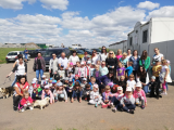 Przedszkolaki z Poraja odwiedziły schronisko