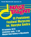Zapraszamy na III Finał Festiwalu Nasz Talent 28 kwietnia