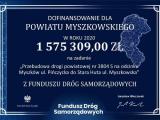 Ponad 1,5 mln zł dla Powiatu Myszkowskiego