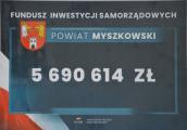 Ponad 5,6 miliona dla Powiatu Myszkowskiego na inwestycje powiatowe
